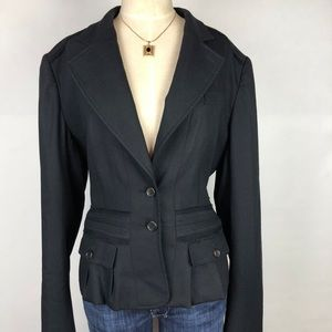 YSL Yves Saint Laurent rive gauche blazer black